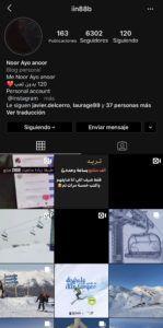 Cuenta de Instagram de Alto Campoo tras el hackeo
