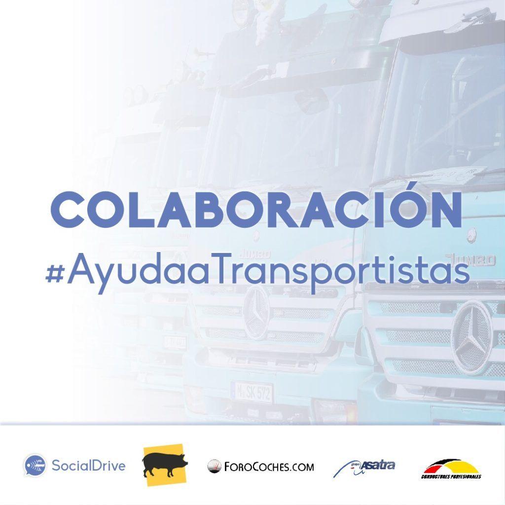 Colaboración #AyudaaTransportistas