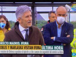 UN CÁNTABRO AL FRENTE DEL HOSPITAL DE CAMPAÑA DE IFEMA EN MADRID