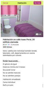 """Caráctceriscas del """"zulo"""" en Santander"""