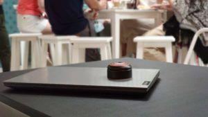 MoveProtection en acción en la cafetería