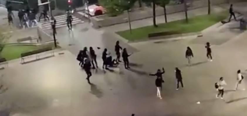 CARGAS POLICIALES EN EL AYUNTAMIENTO DE SANTANDER