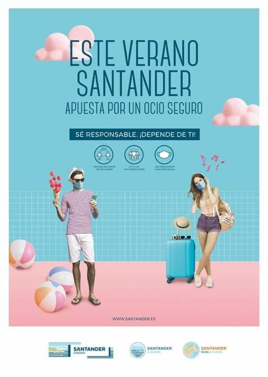 Cartel de la Semana Grande de Santander 2021