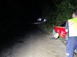 Bomberos del 112 rescatan a dos senderistas extraviados en la vía ferrata de la Hermida