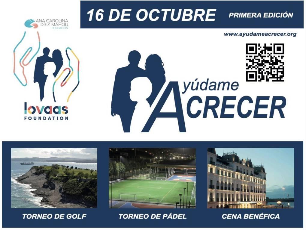"""El proyecto bénefico """"Ayúdame a crecer"""" tendrá lugar el próximo 16 de octubre en Santander"""